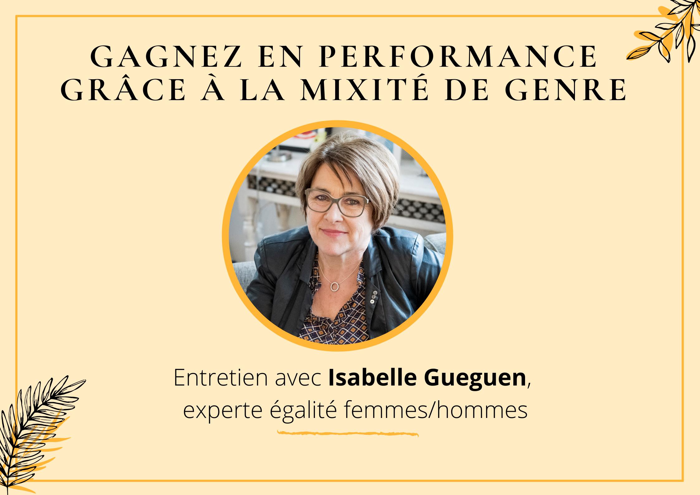 Isabelle Gueguen Experte egalite femmes hommes